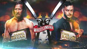 WWE Wrestlemania 36 Custom Match Card By VR