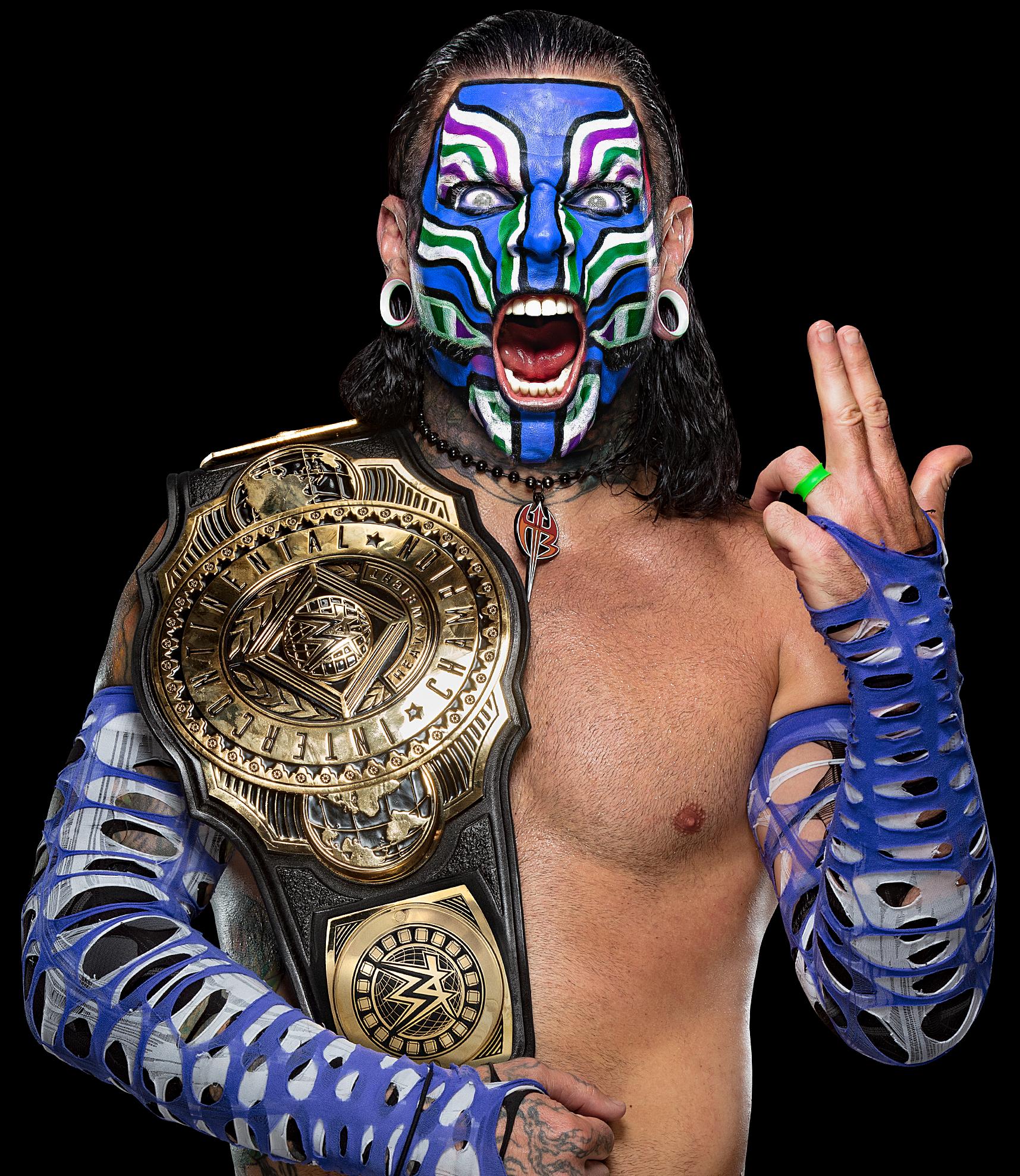 WWE Jeff Hardy Intercontinental Champion Render by VRENDERSWWE on DeviantArt