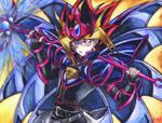 Yami in Magician B.Chaos armor