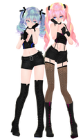 :DOWNLOAD: TDA POP IDOL MIKU and LUKA