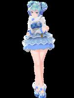 :DOWNLOAD: TDA SnowFlake Miku by SenseiTag