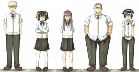 Capture Hearts (main characters)