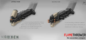a weapon concept design for the HAWKEN