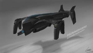 Gun Ship concept design