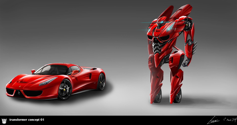 Transformer Concept 01 By Nobody00000000 On Deviantart