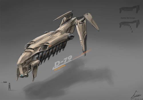 Drop ship concept.