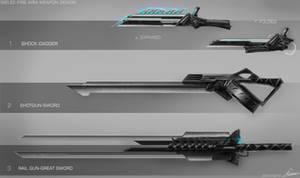 Weapon Design/Concept Art