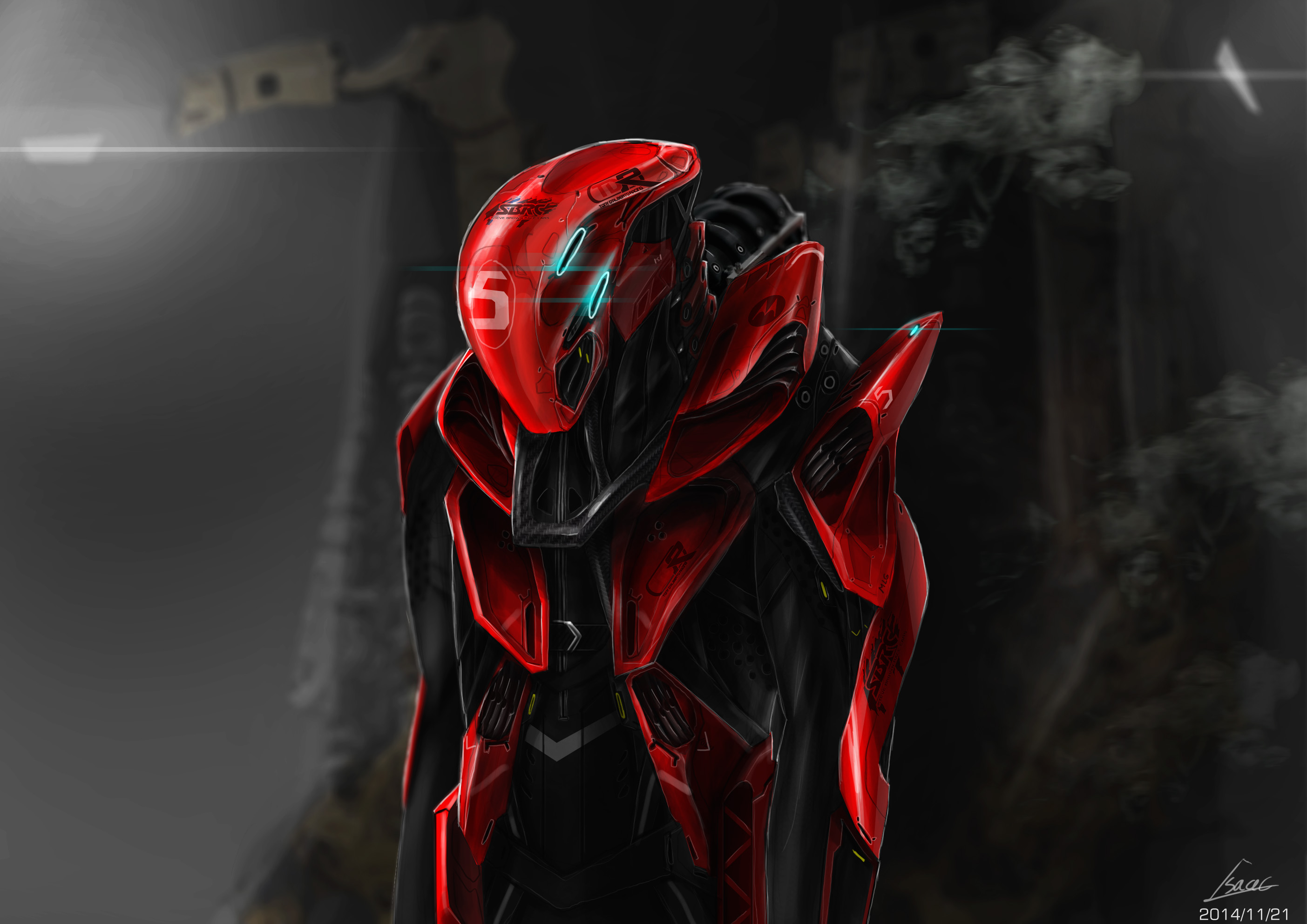 the racing exo suit design by nobody00000000 on deviantart. Black Bedroom Furniture Sets. Home Design Ideas