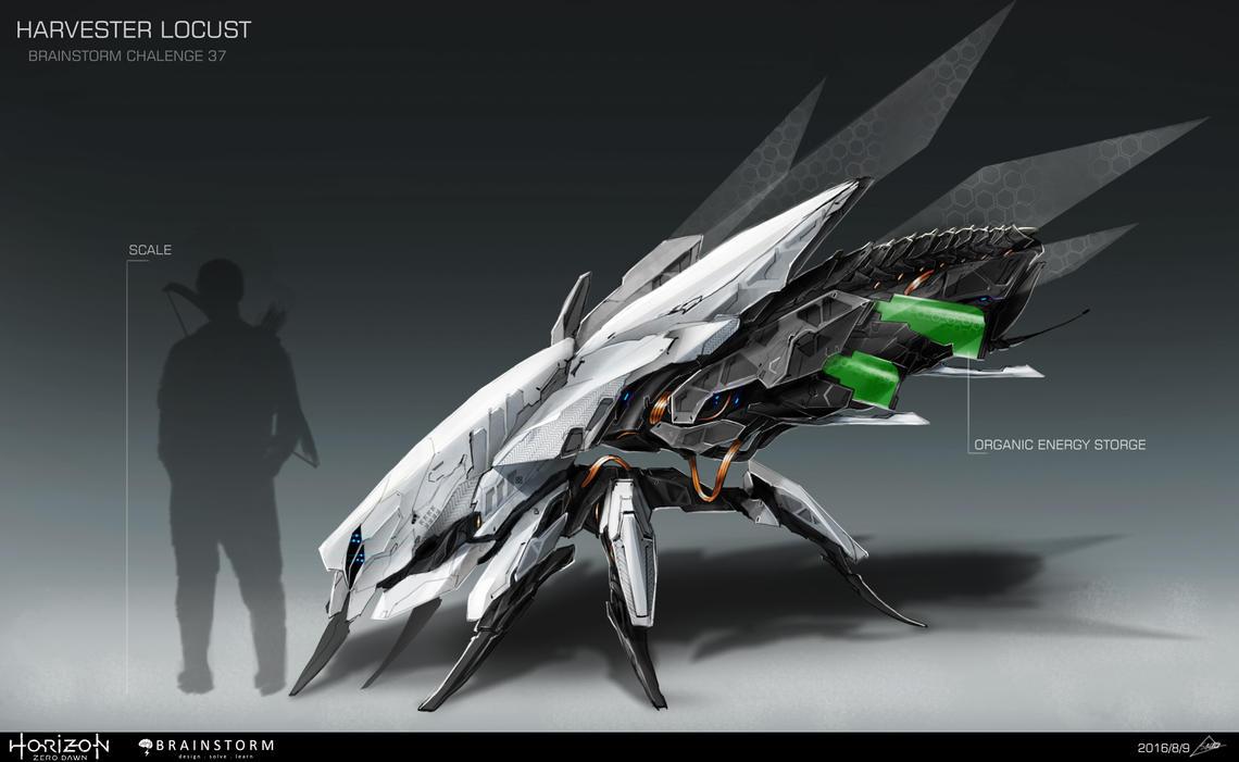 locust machine
