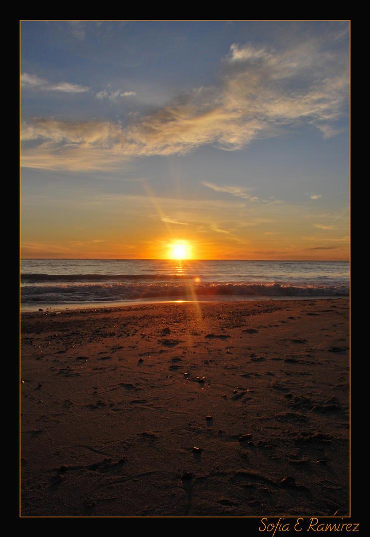 Capistrano Sunset by SofiaERamirez
