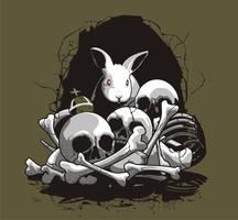 THE BEAST OF CAERBANNOG - T Shirt Art by AdamsPinto