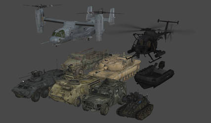 Modern Warfare Vehicles by redbaron7