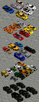 Race and Offroad Cars Pack