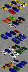 Super, Sports, and Luxury Cars Pack by redbaron7