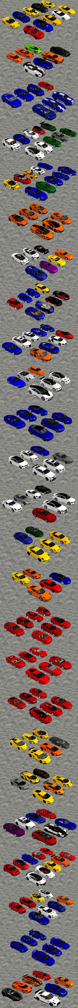 Super, Sports, and Luxury Cars Pack