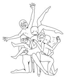Draw the Squad template