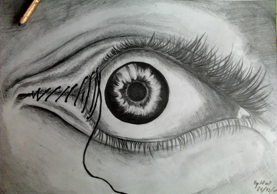 Trippy pictures of eyes