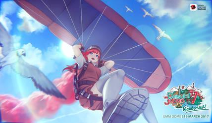 Daisuki Japan Festival - Paragliding
