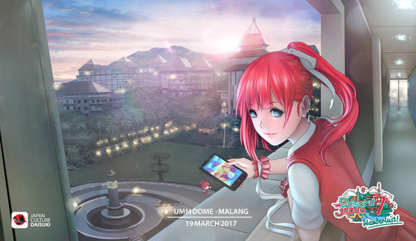 Daisuki Japan Festival - Brawijaya University by RaitVisualWorks