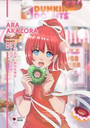 Ara Akazora Endorsement for Dunkin Donuts