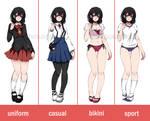 Hotaru - Costume