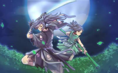 Hyakkimaru and Dororo by RaitVisualWorks