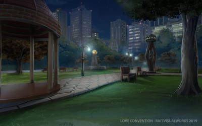 Love Convention - Park [ night ] by RaitVisualWorks