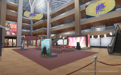Love Convention - Mall by RaitVisualWorks