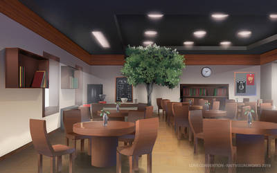 Love Convention - Cafe by RaitVisualWorks