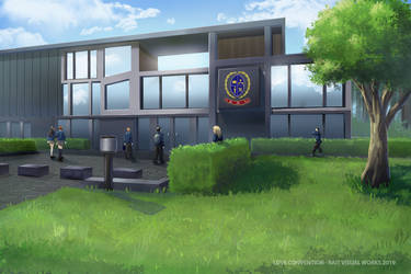 Love Convention - School [ main gate ] by RaitVisualWorks