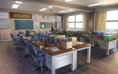 Love Convention - School [ faculty office ] by RaitVisualWorks