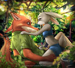 Nick and Judy Guilty love