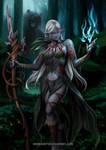Dark Elf - DnD Character Concept