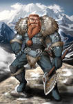 Male Dwarf - DnD Character Concept
