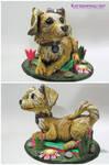 Sculpture clay by Katzenfrau007
