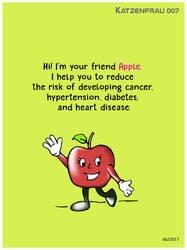 Nutritional Benefits of the apple by Katzenfrau007