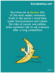Nutritional benefits of the Banana by Katzenfrau007
