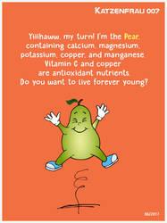 Nutritional Benefits of the pear by Katzenfrau007