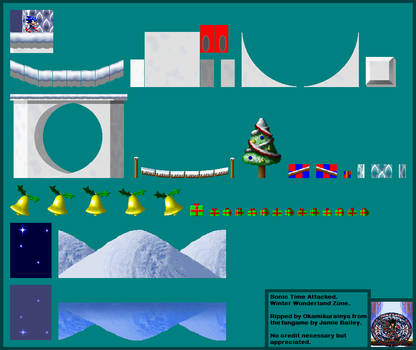 Sonic: Time Attacked - Winter Wonderland Zone