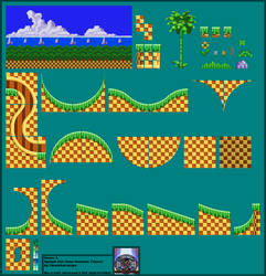 Splash Hill Zone - Genesis by Okamikurainya
