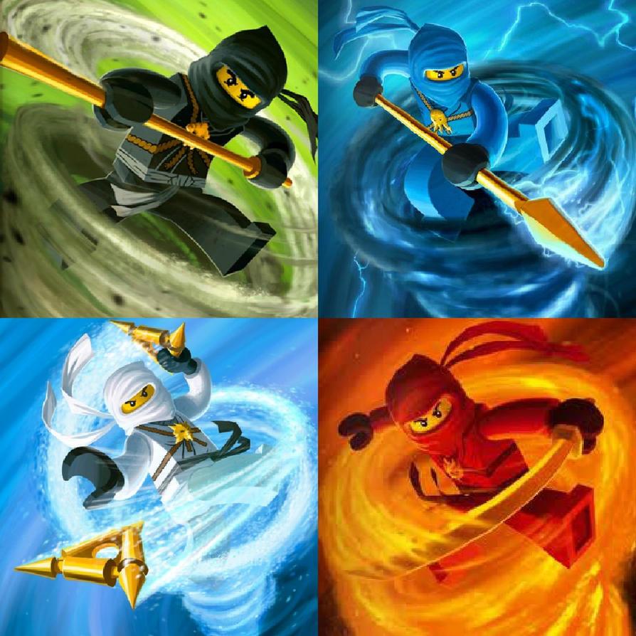 ninjago 5 ninjas mangapark