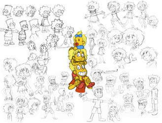 the simpsons kids