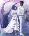 [CM] Lovely wedding (couple fullbody)