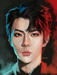 [Fanart] Sehun - EXO