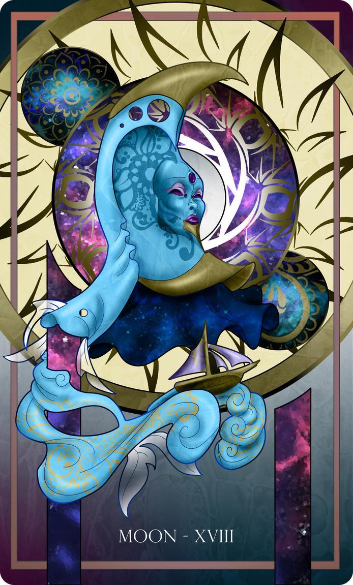 Moon Tarot by Dakknay-Sade