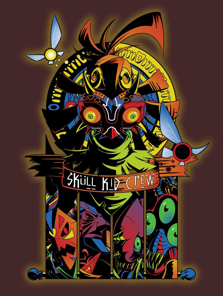 Skull Kid Crew by Dakknay-Sade