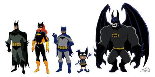 The Batmans by fairstranger