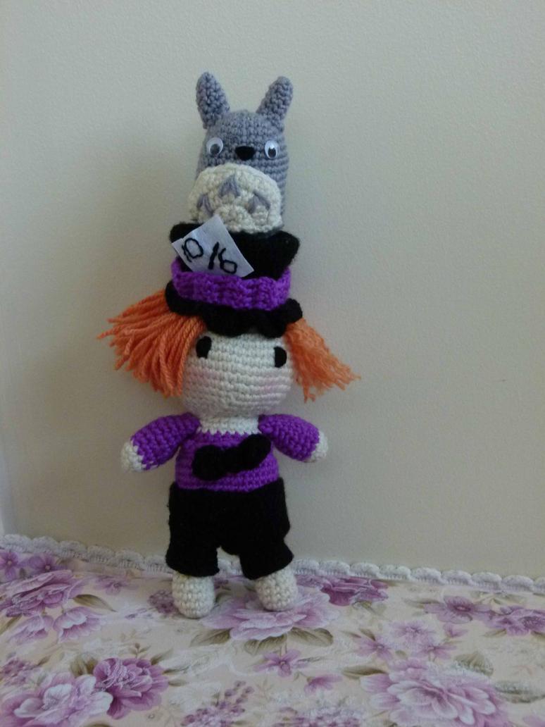 Mad Hatter Amigurumi : Mad hatter and totoro - CROCHET