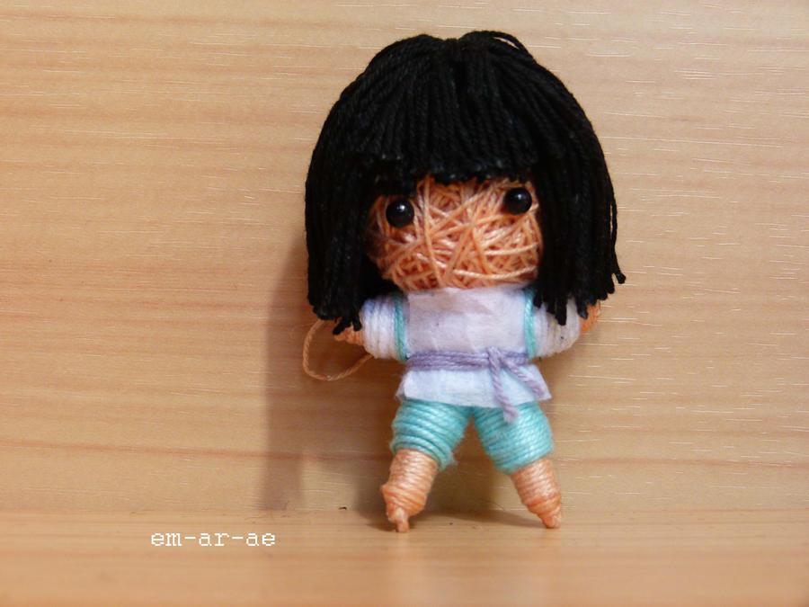 Haku string doll by Em-Ar-Ae