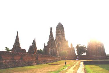 Wat Chainwathanaram temple by Em-Ar-Ae